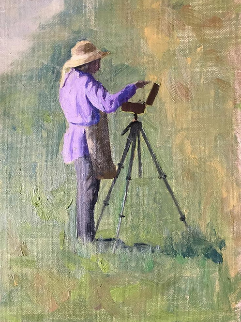 A plein air painter