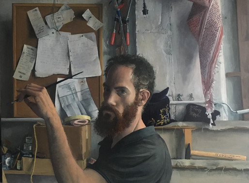 ASHURST Emerging artists 2019 interview and answers to questions about the auto portrait in paris
