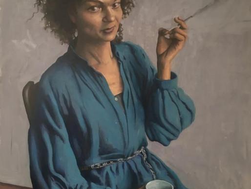"Sandra smoking portrait tutorial with in-depth explanation (Part 1)"""