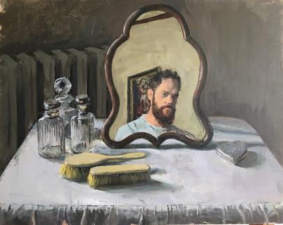 The creator in the mirror