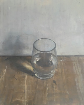 A completly full glass