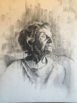 Preparatory drawing for grandmoma2
