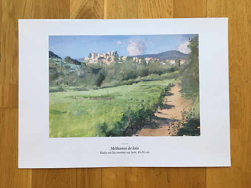 Signed high quality reproduction prints A4 (21X29.7cm)