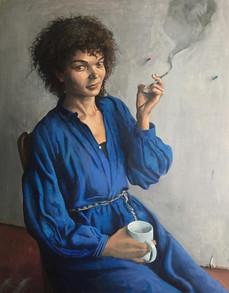 sandra smoking