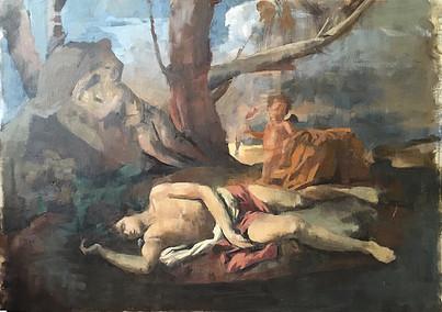 Louvre Paris : Death of Narcissus
