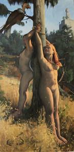 sacriffice of the virgins in giebenhinom