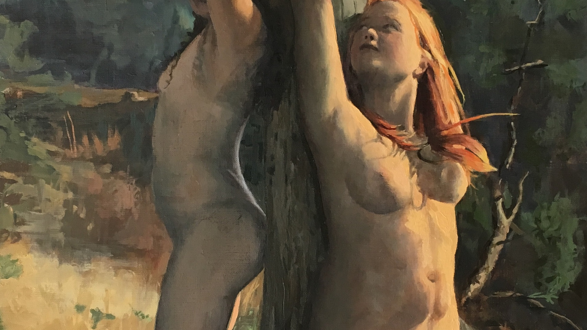 Sacrifice of the virgins  at giebenhinom