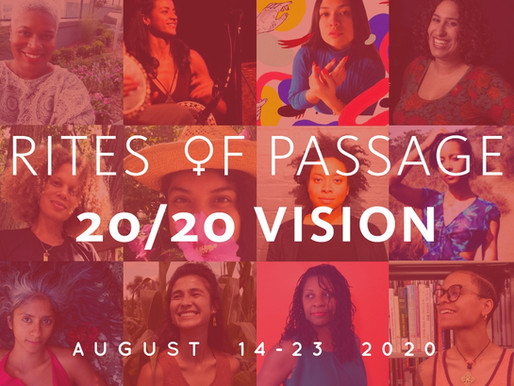 Announcing Rites of Passage 20/20 Vision