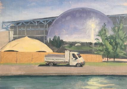 La camionnette a la villette