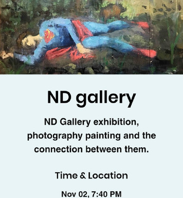 Exhibition at the ND gallery