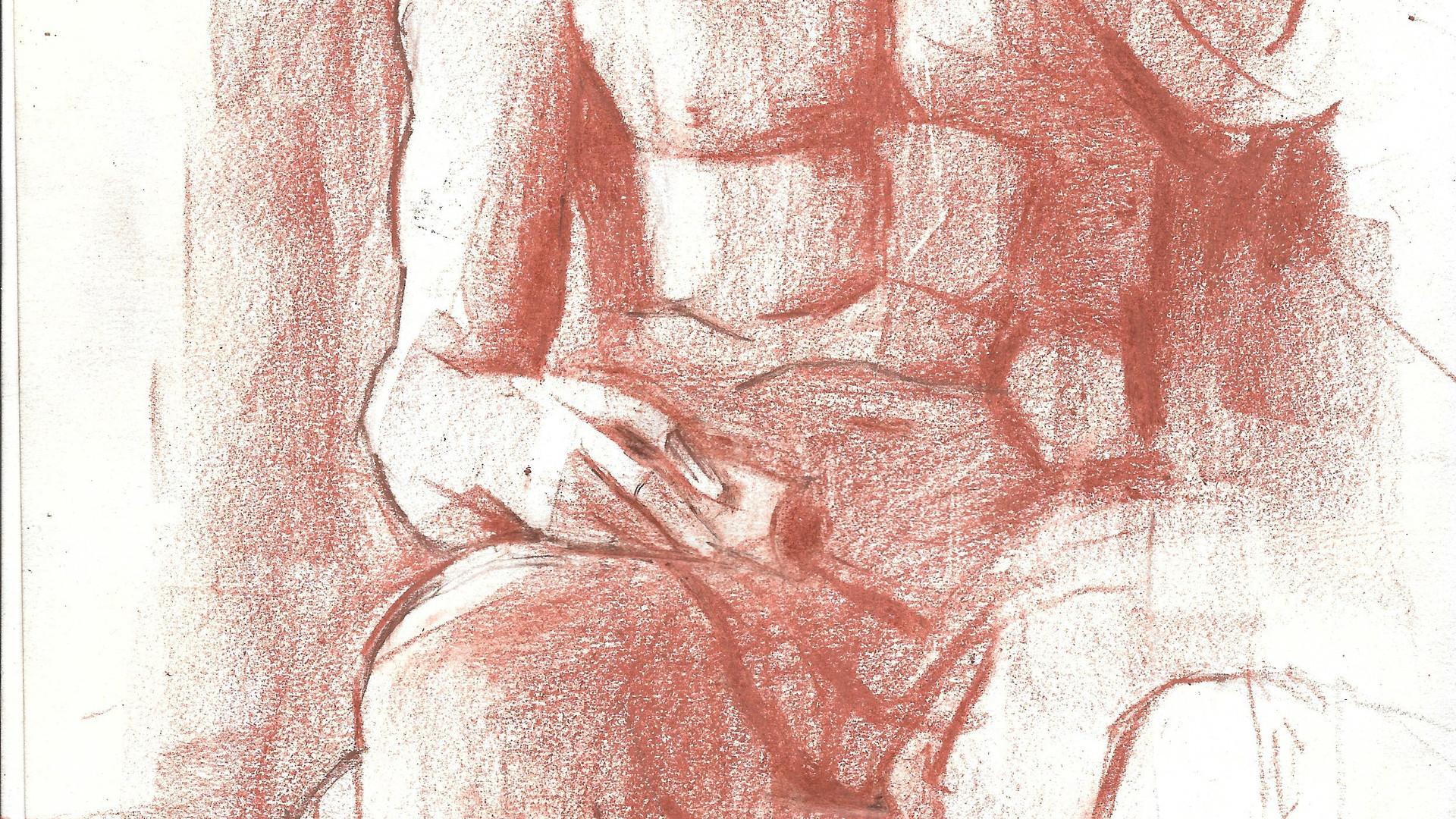 A roman sculpture from napels