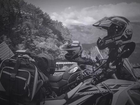 Motorcycle touring - Shikoku Island