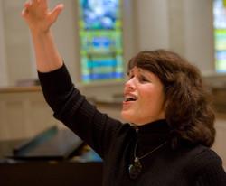choir directing at First Presbyterian Church