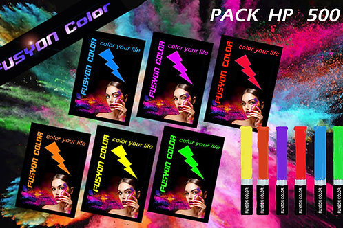 PACK HOLI PARTY 500