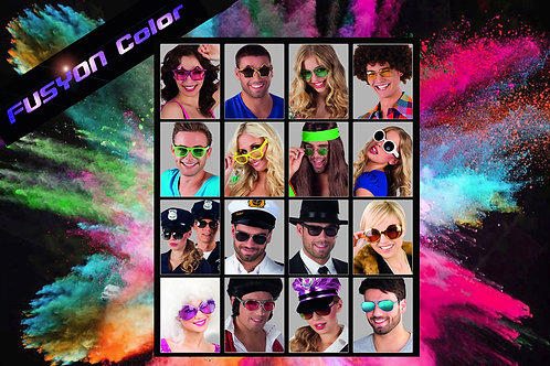 PACK 16 LUNETTES ASSORTIMENT