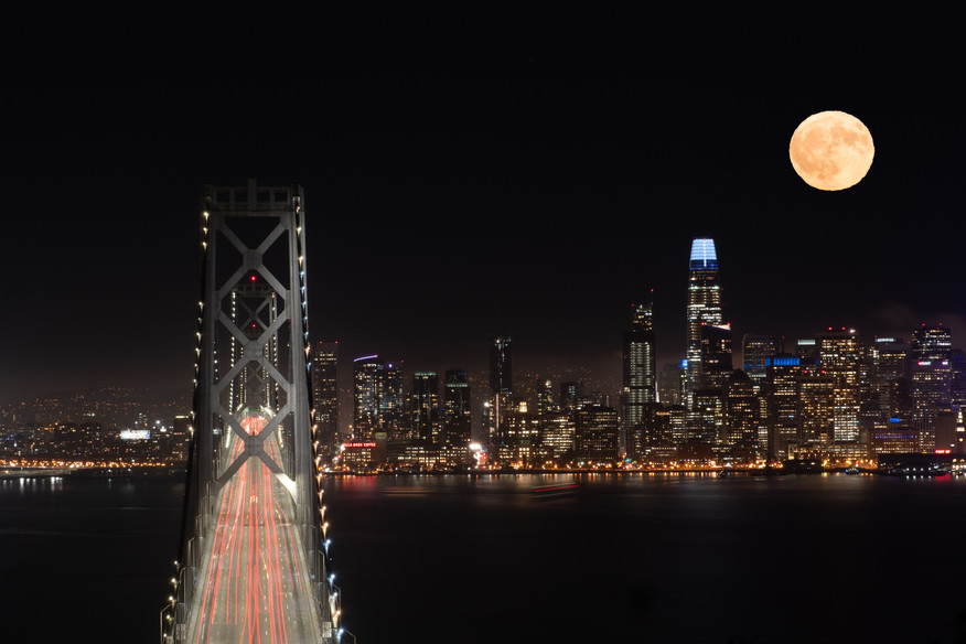 Full Moon in the Bay Area