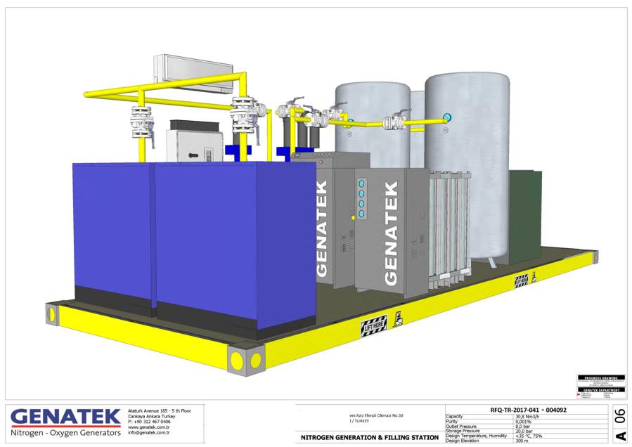 konteyner mobil oksijen üretimi