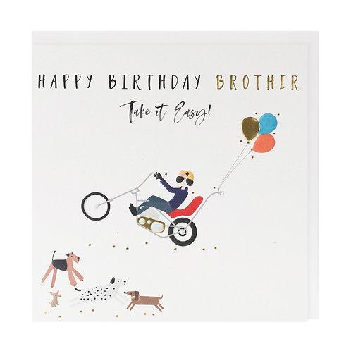 Belly Button Design -Brother Birthday