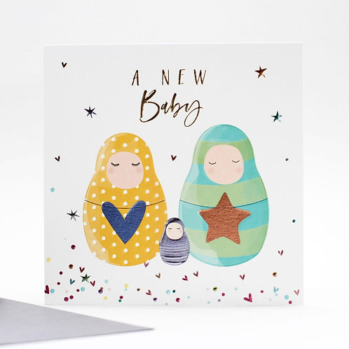 Belly Button Cards -New Baby