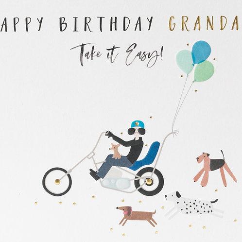 Belly Button Design -Grandad Birthday