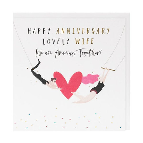 Belly Button Cards -Wife Anniversary