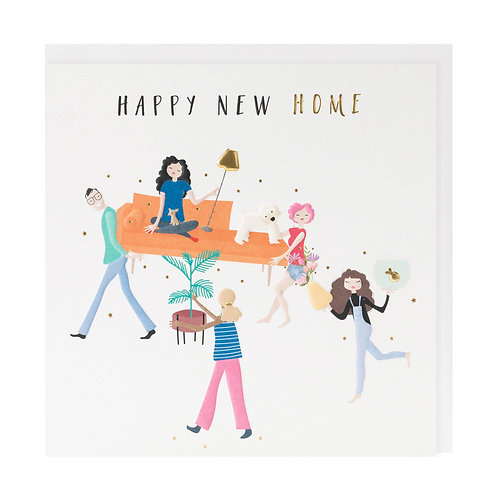 Belly Button Cards - New Home