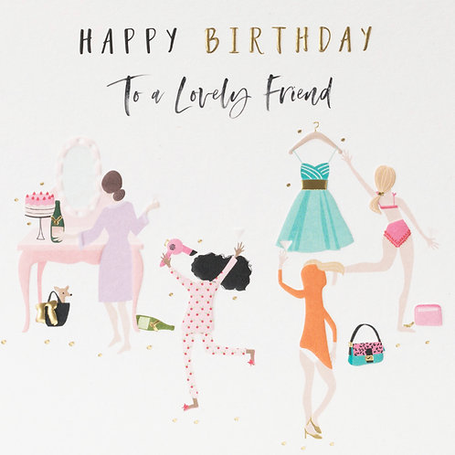 Belly Button Design  - Friend Birthday