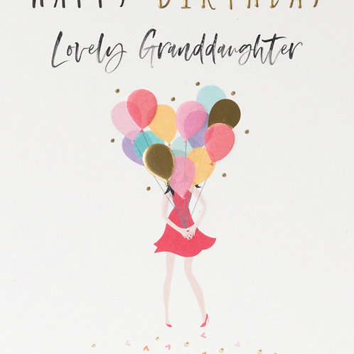 Belly Button Cards -Granddaughter Birthday