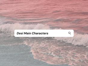 REC: Desi Characters