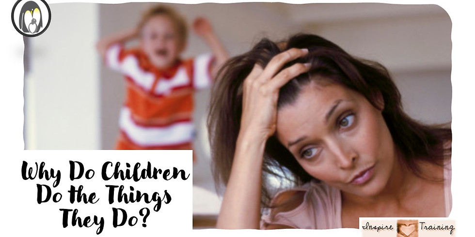 Why Do Children Do The Things They Do?