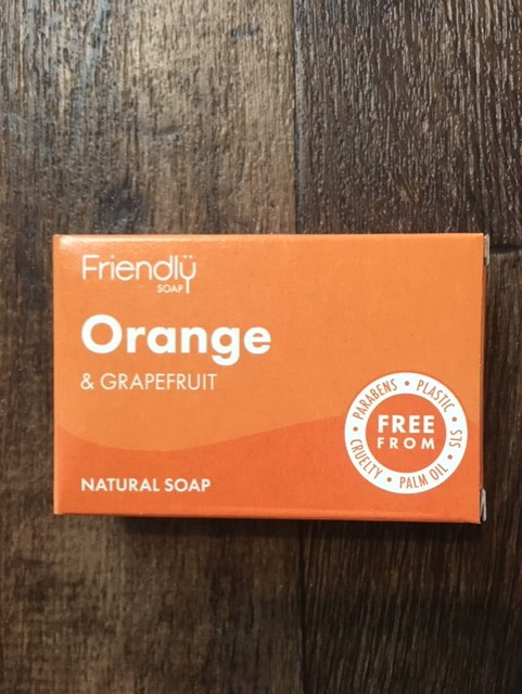 Soap orange and grapefruit
