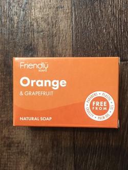 Soap orange and grapefruit