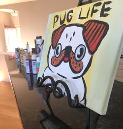 Birthday Paint Party - Pug Life