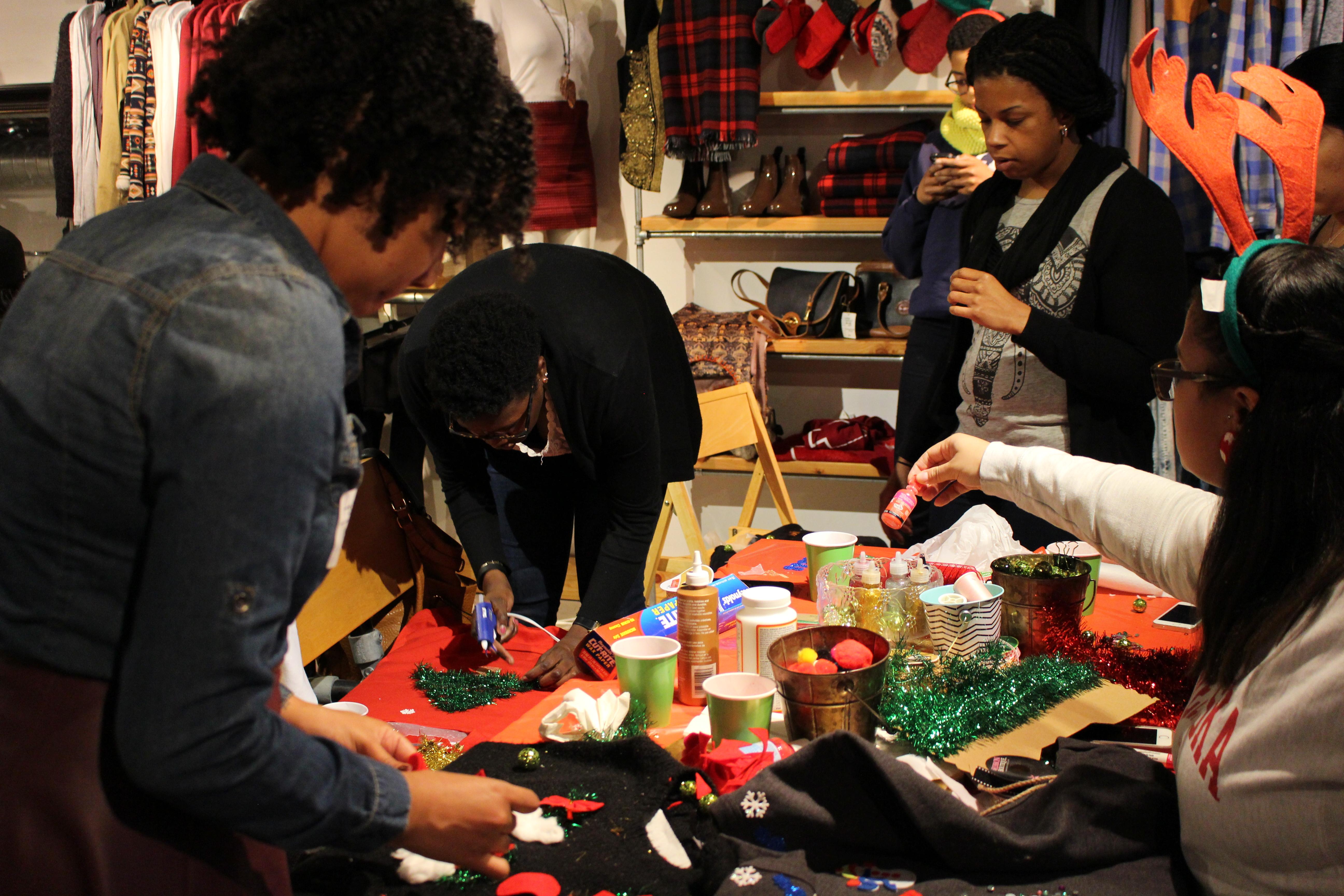 Ugly Sweater DIY Workshop