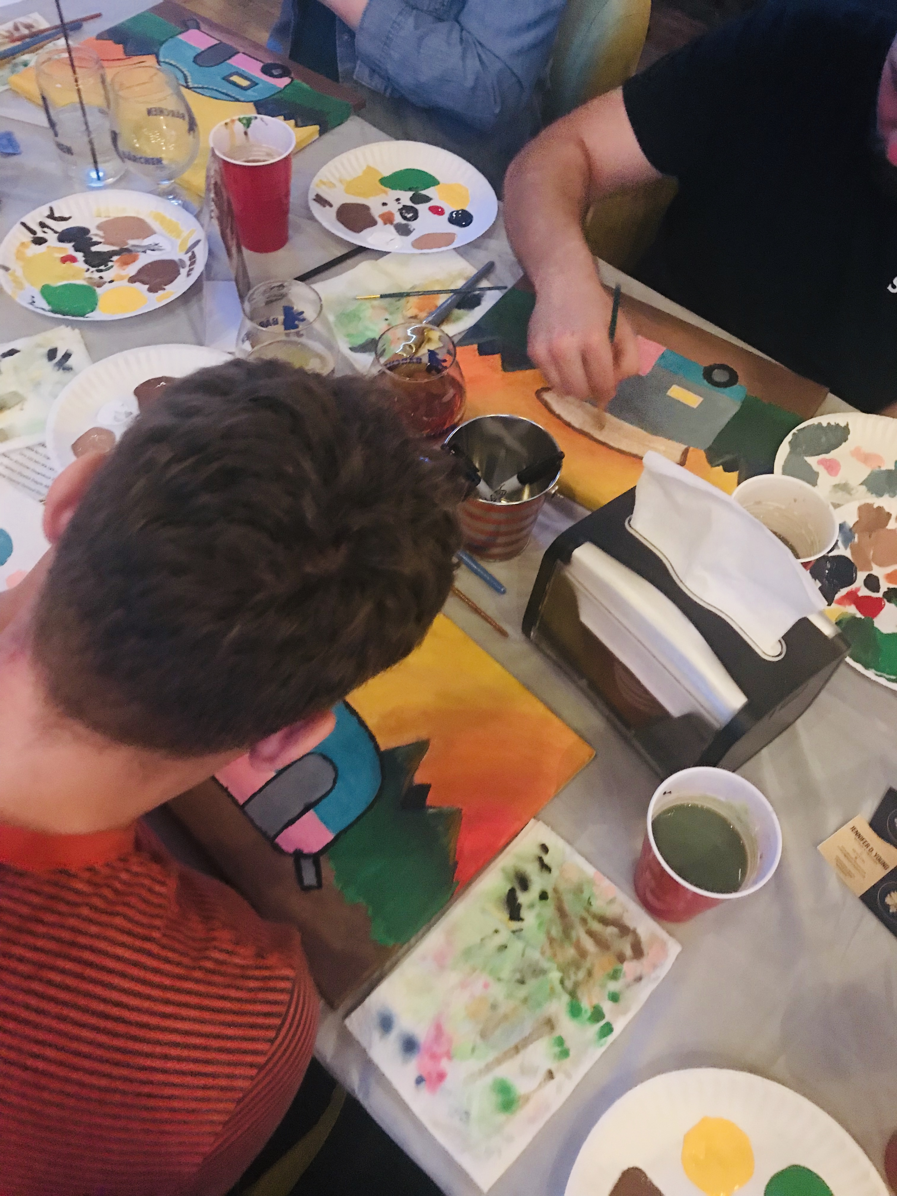 PINT & PAINT - APRIL 2019