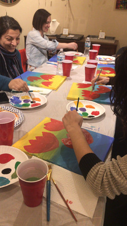 PAINT & WINE NIGHT AT REVIVAL