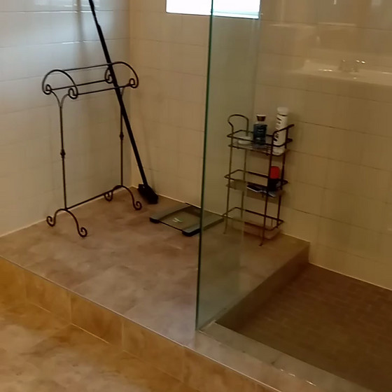 Who doesn't love a clean shower
