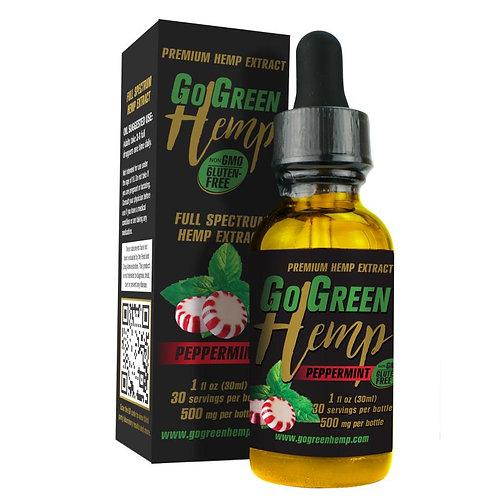 Go Green Hemp CBD Oil