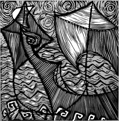 Barca e luna