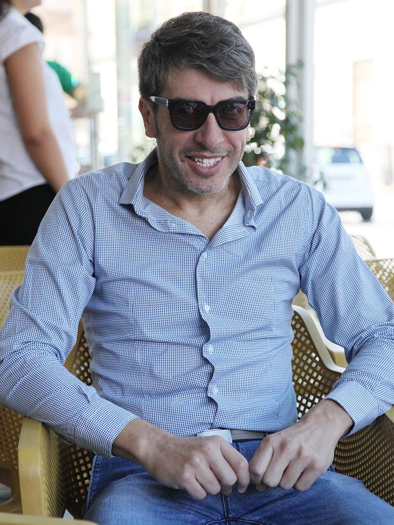 """Antonio Di Trento (ospite) alla presentazione """"La casa di cartone"""" di Roberto Moliterni"""