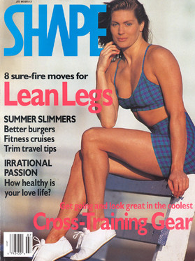 Shape Magazine cover with LaReine