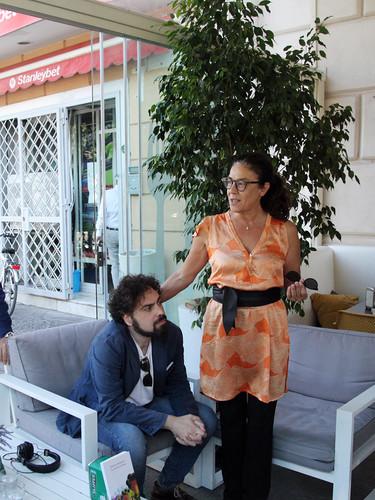 """presentazione """"La casa di cartone"""" di Roberto Moliterni"""