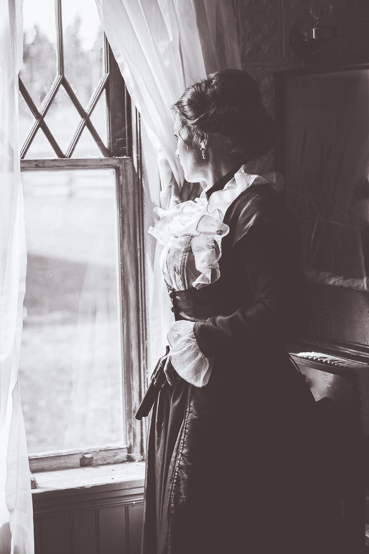 Photo: Stacey Ounpuu, Model: Ursula Hart,  Location: 108 Heritage Site