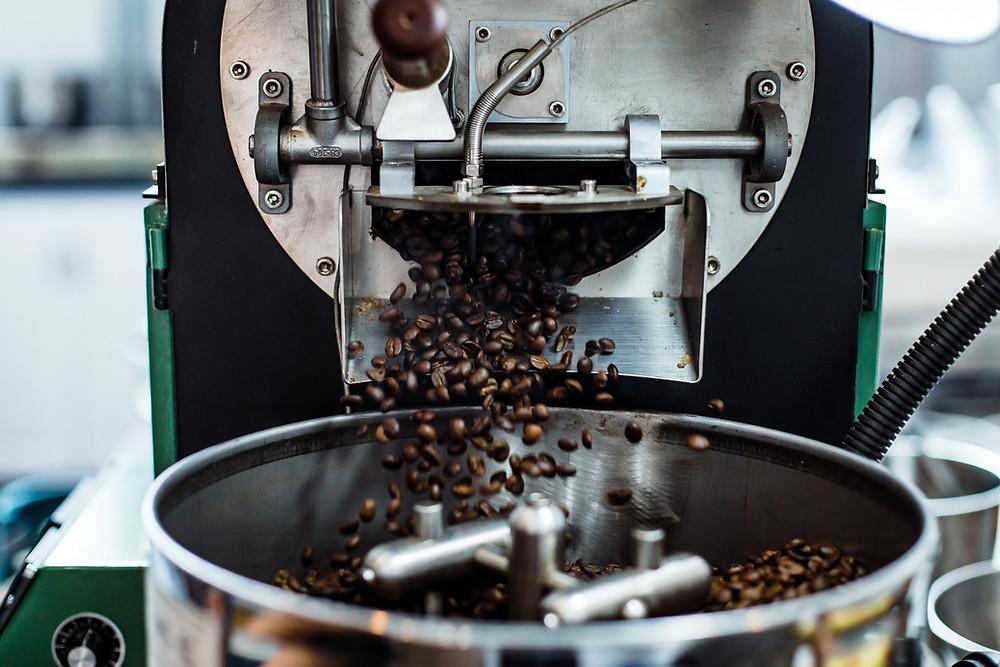 piec do wypalania ziaren kawy