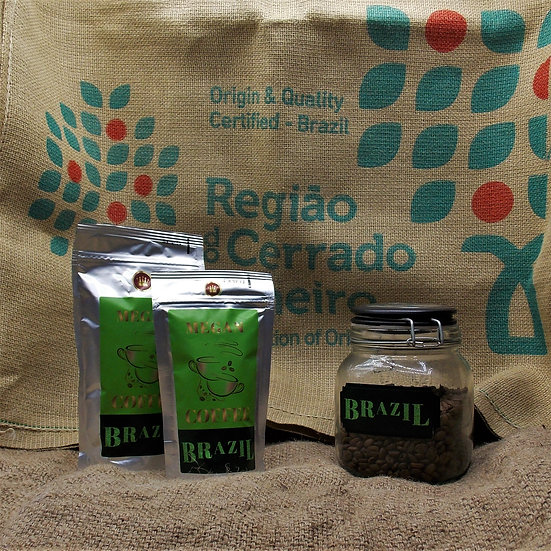 kawa Brazil Santos Irish Coffee o aromacie whiskey