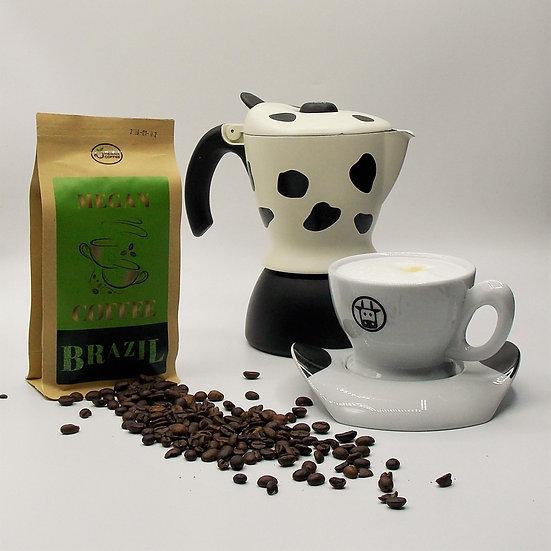 kawa ziarnista Brazil Santos świeżo palona
