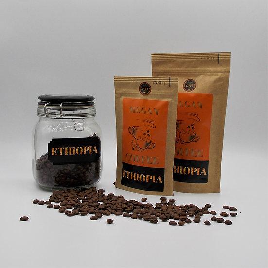 kawa ziarnista Ethiopia Sidamo świeżo palona rzemieślnicza