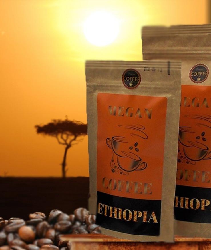 kawa ziarnista świeżo palona Ethiopia Mocca Harar
