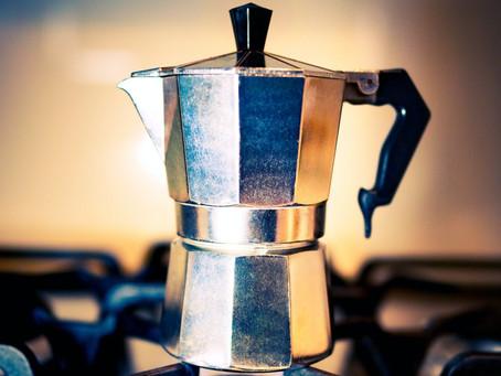 Moka express - czyli od pralki do najsłynniejszej na świecie kawiarki
