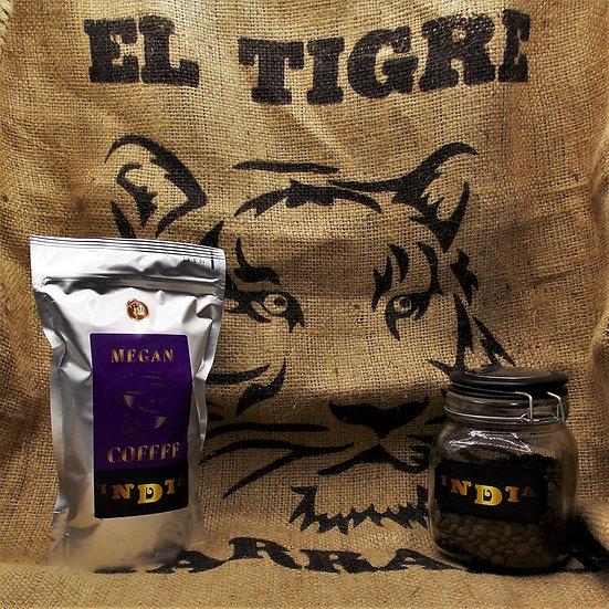 """kawa ziarnista India Plantation Deluxe świeżo palona z obróbki """"honey"""""""
